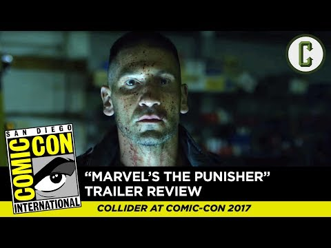 The Punisher First Footage Review - Comic Con 2017