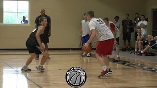 Danny Butt drains DEEP Game Winner in NextUpRecruits Kentucky Camp - Louisville Magic 2018 Guard
