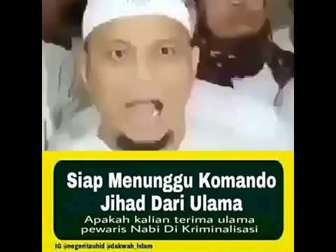 Menunggu Komando Ulama untuk jihad