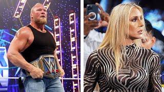 Sad Reasons Brock Lesnar Was Suspended Leaked BREAKING Charlotte Flair Leaving WWE
