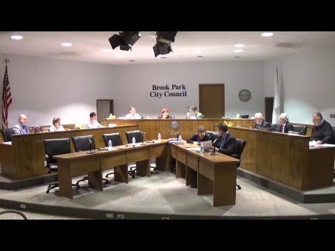 Brook Park Caucus and Brook Park City Council Meeting 11/14/2017