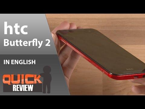 [EN] hTC Butterfly 2 Quick Review [4K]
