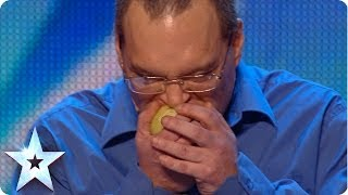 Britain's Got Talent - Record Breaking Raw Onion Eater?
