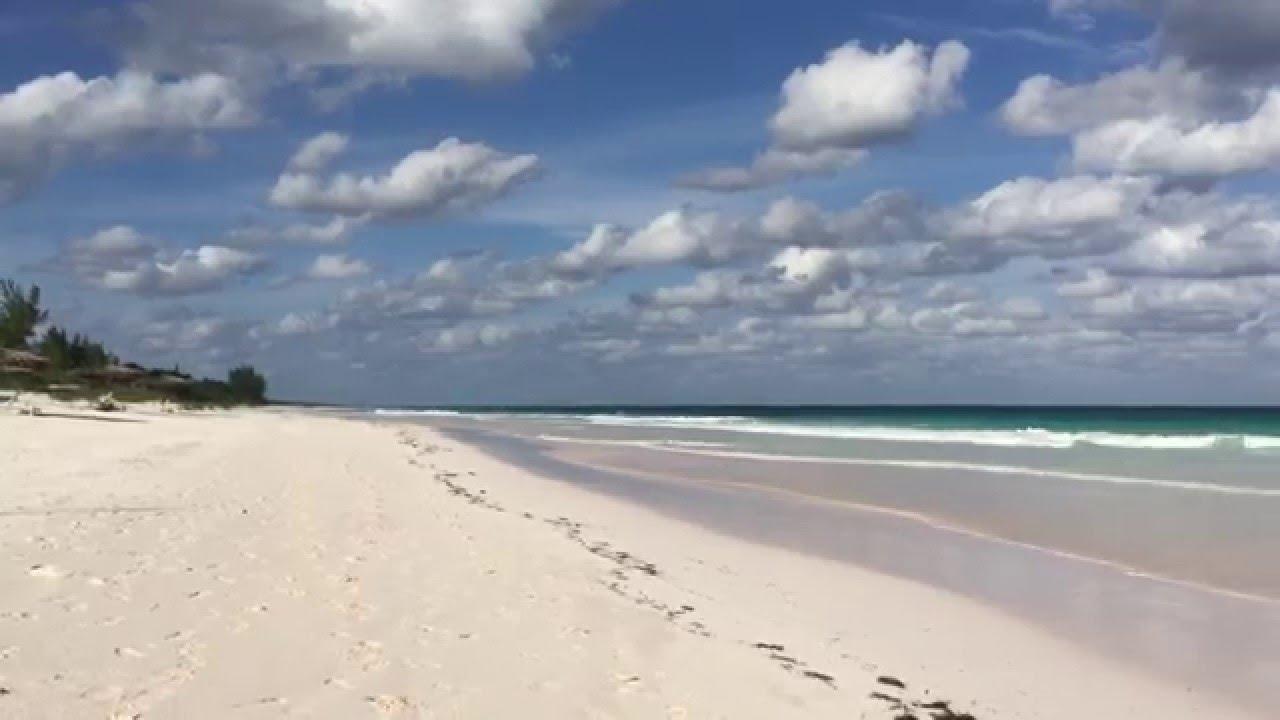 Pink sands beach harbour island bahamas youtube for Pink sands beach in harbour islands