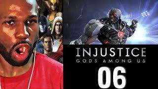 Injustice Gods Among Us Gameplay Walkthrough PART 6 - CYBORG (PS3/XBOX 360/PC)