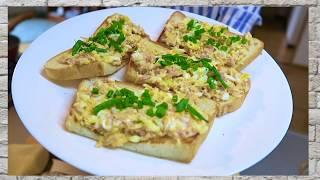 Намазка на хлеб за 2 минуты. Пошаговый рецепт закуски!