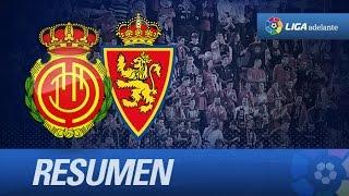Resumen de RCD Mallorca (3-2) Real Zaragoza