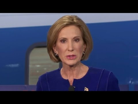 Carly Fiorina gets personal discussing drugs