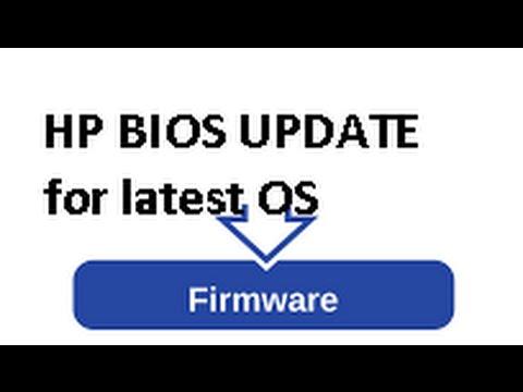 How to do Hp bios update (hp computer updates)