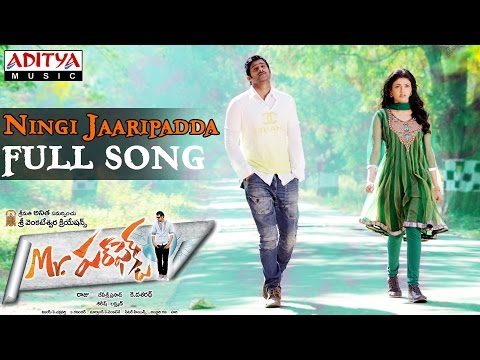 Mr Perfect Telugu Movie Ningi Jaaripadda Full Song || Prabhas, Kajal Agarwal