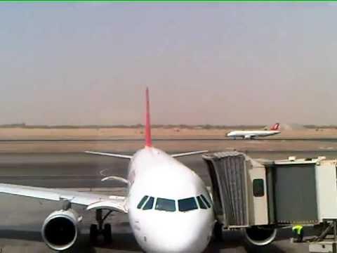 Plane-spotting at Sharjah International Airport