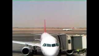 Plane-spotting at Sharjah International Airport