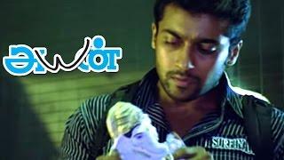 Ayan Tamil Movie scenes Surya & Ponvannan Seize Cocaine from Akashdeep Saighal Surya ...