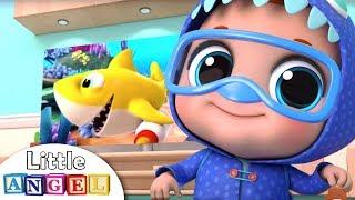 Peek-a-boo, I See You! | Little Angel Nursery Rhymes and Kid...