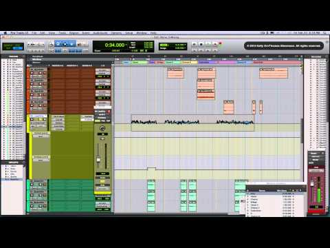 Pro Tools Mixing Tutorial/Tips Nerve9: 'Pray For The Rain'