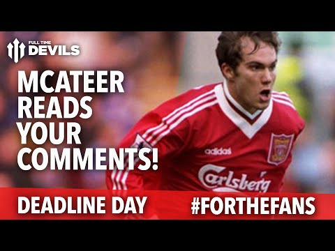 Jason McAteer Reads Your Comments | Manchester United | #ForTheFans