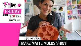 How To Make Matte Resin Shiny