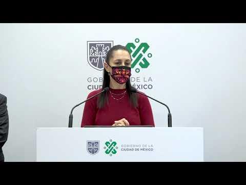 CDMX  y el Gobierno de México, presentaron la estrategia de Atención especializada COVID en casa.
