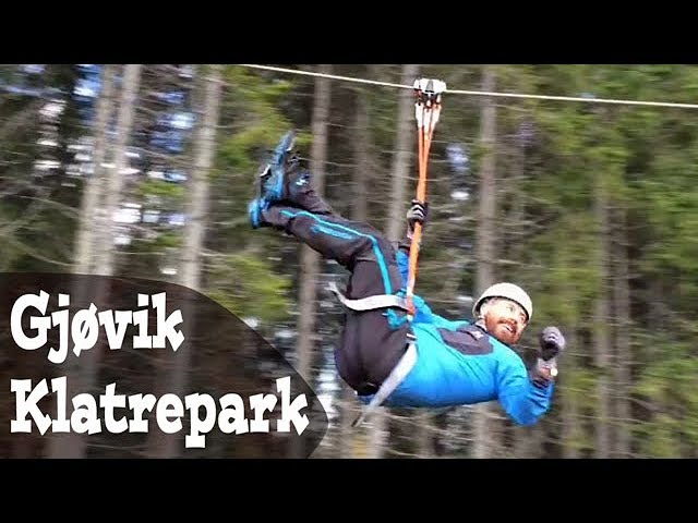 Gjøvik klatrepark - Moro for hele familien!