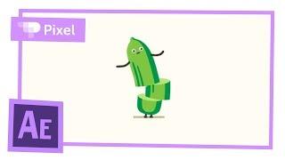 Анимация огурчика в After Effects | уроки для новичков