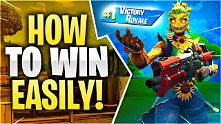 HOW TO WIN EASILY! (Fortnite Battle Royale)