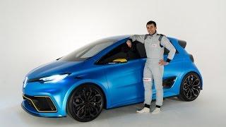 VIDEO Renault Zoe e Sport Concept - L'argus