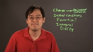 Tips on Solving the Word Problems of Differential Equations : Math Tips