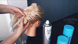 КАК СДЕЛАТЬ ПРИЧЕСКУ ИЗ КОС ? | Прически на средние волосы | Beautiful Hairstyle | LOZNITSA