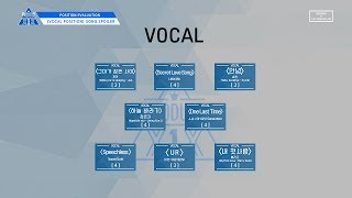 [VOCAL POSITION] Songs Spoiler @PRODUCE X1X 'Position Evaluation'