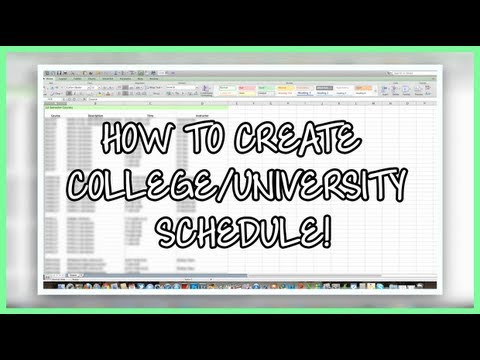 high school schedule generator