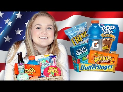 ULTIMATE British Girls Trying American Candy!