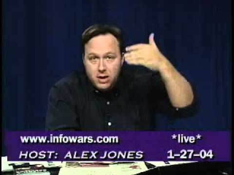 Alex Jones - Weekly Report - Live 01.27.04 (Analysis Of WTC Building 7)