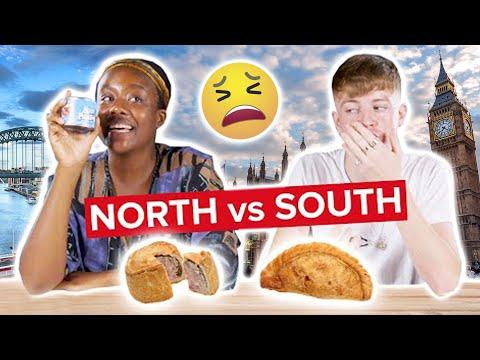 Northern & Southern English People Swap Snacks