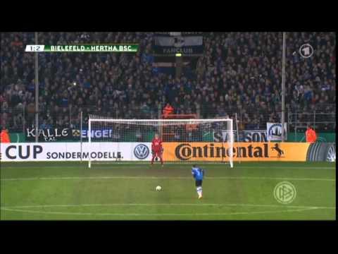 Arminia Bielefeld - Hertha BSC Berlin Elfmeterschießen 28.10.14
