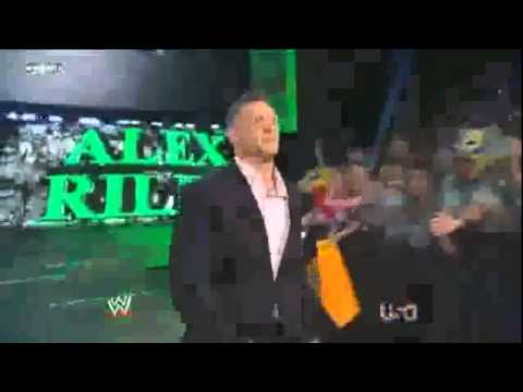 WWE Raw 5/30/11 Alex Riley Debuts New Face Theme