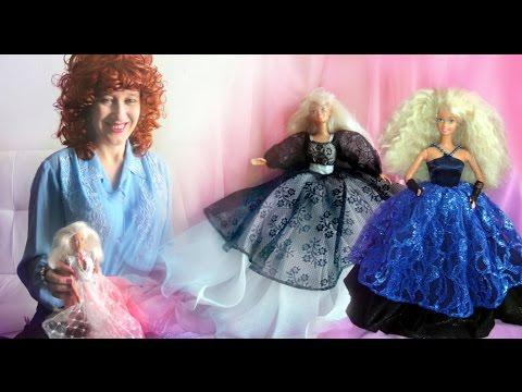 Вышивка платья для куклы