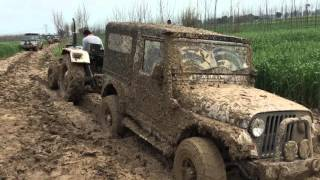 Off road with thar in punjab