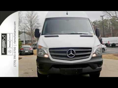 New 2016 mercedes benz sprinter cargo vans atlanta ga for Mercedes benz sandy springs