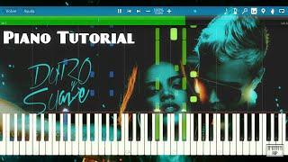 Leslie Grace ft Noriel - Duro y suave | Piano Tutorial