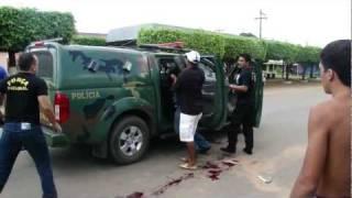 Assalto ao Banco do Brasil em Rondônia - Confronto com a  Forca Nacional