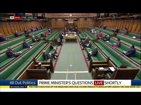 Watch in full: Prime Minister Boris Johnson faces Labour leader Sir Keir Starmer at PMQs