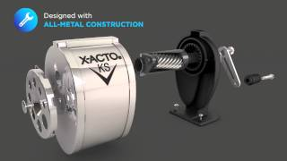 X-ACTO® KS™ Manual Classroom Pencil Sharpener (1031)