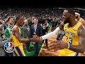 Rajon Rondo's buzzer-beater, LeBron's triple-double lift Lakers past Celtics | NBA Highlights