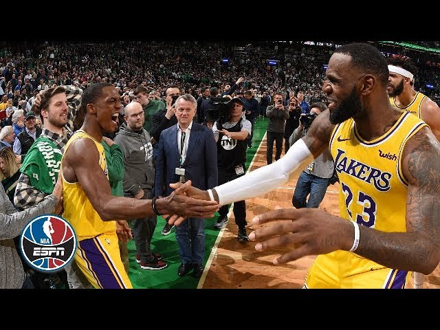 Rajon Rondo's buzzer-beater, LeBron James's triple-double lift Lakers past Celtics | NBA Highlights