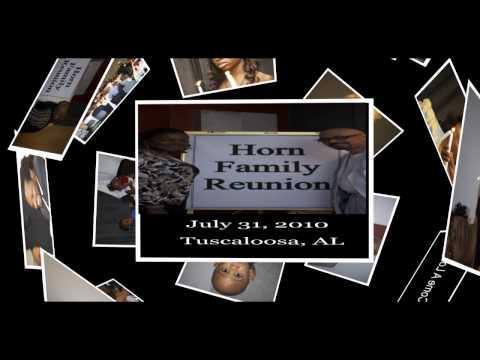 Horn Family Reunion 2010  DVD INTRO / (Gospel Song Bless Your Name)