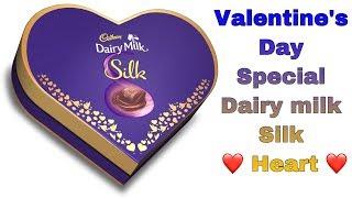Cadbury Dairy Milk Silk Heart - Valentine's Day Special