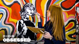 How This Woman Makes People Look 2D with Body Paint | Obsessed | WIRED