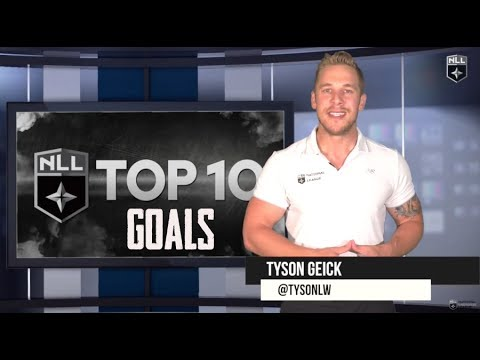 NLL Top 10: Goals of the 2017 NLL Season