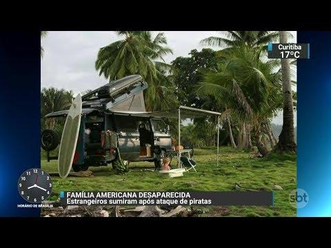 Polícia investiga desaparecimento de família americana | SBT Brasil (01/11/17)