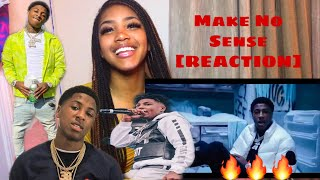 Youngboy Never Broke Again - Make No Sense [Official Music Video]  REACTION 